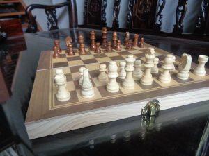 bộ cờ vua gỗ đẹp
